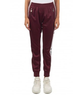 Reinders Tracking Pants Burgundy Bordeaux Dusty