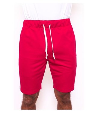 Radical Trackpants Short Red / White