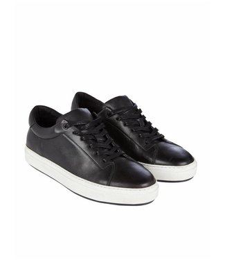 Pure White LOW TOP SNEAKER BLACK