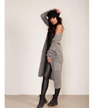 Jacky Luxury Cardigan Knit Grey