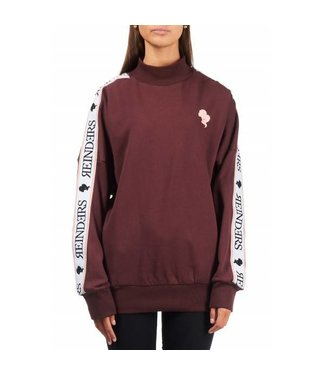 Reinders Tracking Sweater Burgundy Bordeaux