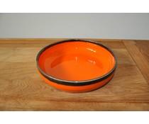 Schaal oranje