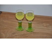 limoncello glaasjes verde set van 3