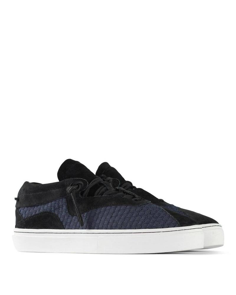 CLEAR WEATHER EVEREST IN BLACK / NAVY WOVEN