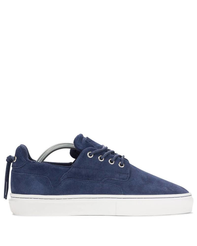 CLEAR WEATHER EIGHTY IN NAVY SUEDE