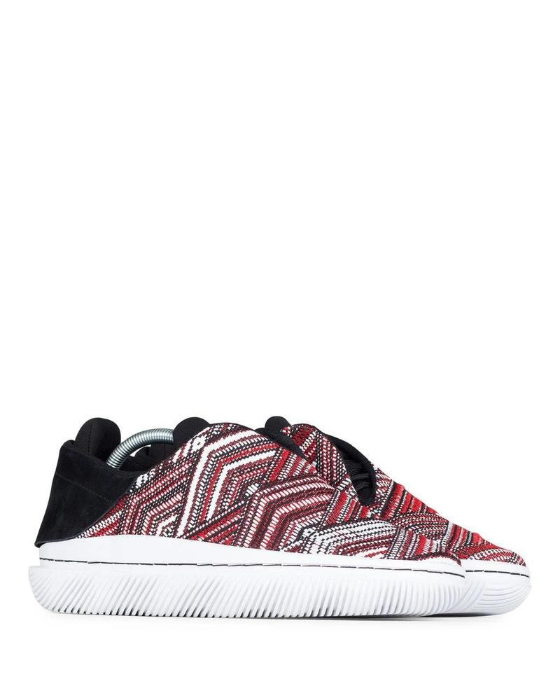 CLEAR WEATHER CONVX IN GEO RED WOVEN