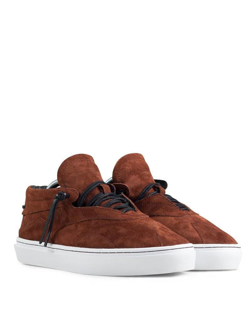 CLEAR WEATHER EVEREST IN HENNA SUEDE