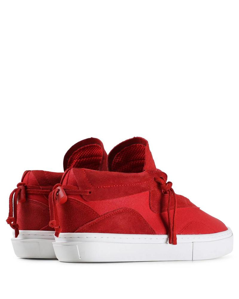CLEAR WEATHER EVEREST IN RED CANVAS/SUEDE