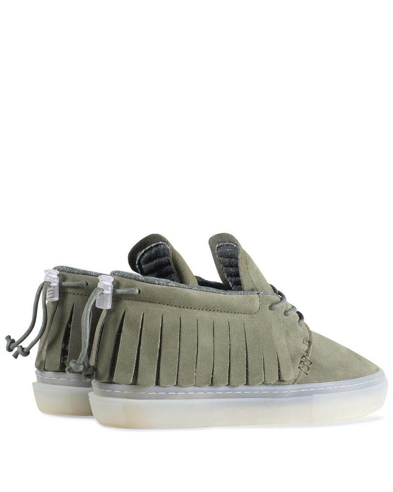CLEAR WEATHER ONE-O-ONE IN OLIVE SUEDE