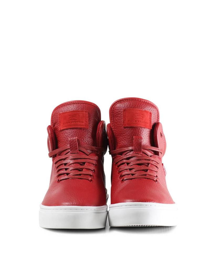 CLEAR WEATHER ONE-TEN IN RED LEATHER