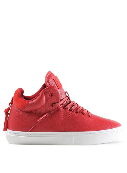 ONE-TEN IN RED LEATHER
