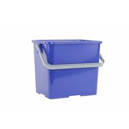 Brite-in Kunststof Werkemmer / Werkwagen Emmer, 6ltr (Blauw)