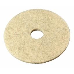 """E-Line Floorpads Vloerpad / Highspeedpad, 20"""" / 51cm (Natural Hair)"""