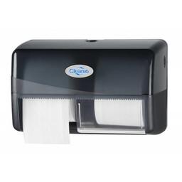 Pearl-Line Gebruikte Coreless Duo Toiletrol Dispenser (Pearl Black)