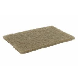 E-Line Floorpads Schuurvlies / Schuurlap 230x150x8mm, Beige (Pak á 10 stuks)