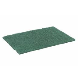 E-Line Floorpads Schuurvlies / Schuurlap 230x150x8mm, Groen (Pak á 10 stuks)