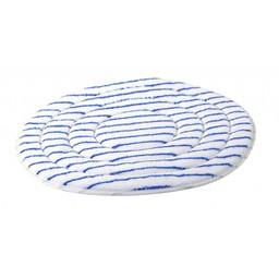 Brite-in Microvezel Bonnetpad (Wit / Blauw)