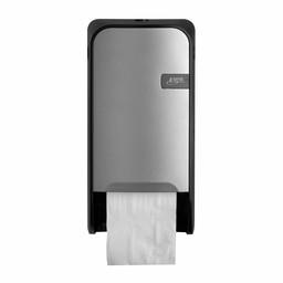 Quartz-Line Quartz-Line  Doprol Toiletpapier Dispenser (Zilver / Zwart)