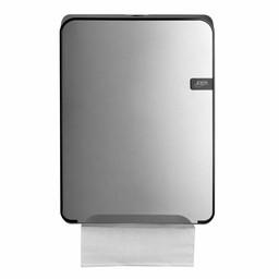 Quartz-Line Quartz-Line  Vouwhanddoekjes Dispenser (Zilver / Zwart)
