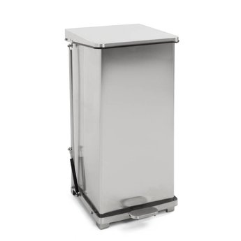 Fonkelnieuw HACCP Afvalbak met Voetpedaal, 90L (RVS) - Cleanioshop XU-51