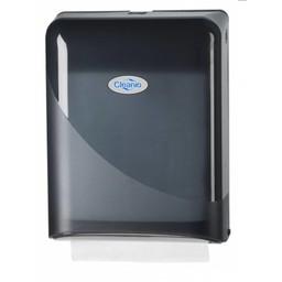 Cleanio Gebruikte Z-vouwhanddoekjes Dispenser (Pearl Black)