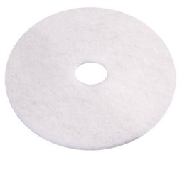 "E-Line Floorpads Schrobpad tbv Cleanfix Scrubby, 165mm /  6.5"" Inch (Wit)"