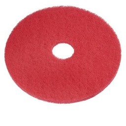 "E-Line Floorpads Schrobpad tbv Cleanfix Scrubby, 165mm /  6.5""  Inch (Rood)"