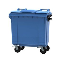 Vepabins Afvalcontainer / Rolcontainer, 770ltr (Blauw)