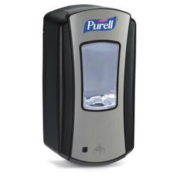 """Purell Purell - LTX-12 """"No Touch""""  Zeepdispenser (Chroom / Zwart)"""