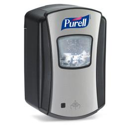 """Purell Purell - LTX-7 """"No Touch""""  Zeepdispenser  (Chroom / Zwart)"""