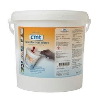 CMT CMT - Disinfection Wipes 80%, Blauw (Emmer á 680 stuks)