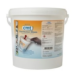 CMT - Disinfection Wipes 80%, Wit (Emmer á 680 stuks)