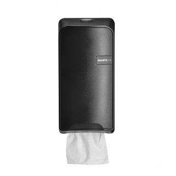 Quartz-Line Quartz-Line - Bulkpack Toiletvel Dispenser (Zwart)