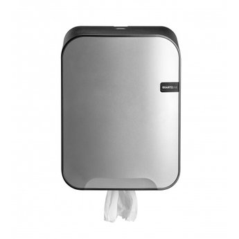 Quartz-Line Quartz-Line  - Midi Poetsrol Dispenser (Zilver / Zwart)