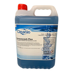 Cleanio ScreenWash Plus -20°C (5ltr can)