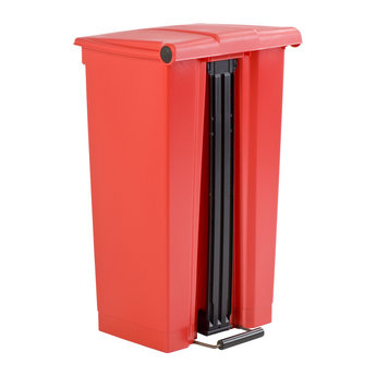 Rubbermaid Rubbermaid - Step-On Classic HACCP Afvalbak, 45L (Rood)