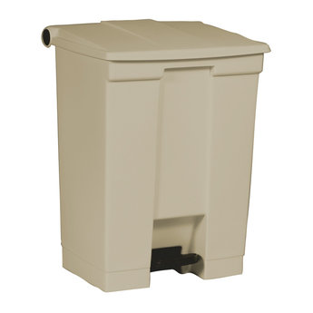 Rubbermaid Rubbermaid - Step-On Classic HACCP Afvalbak, 45L (Beige)