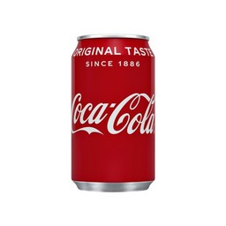 Coca Cola Regular, 330ml Blik