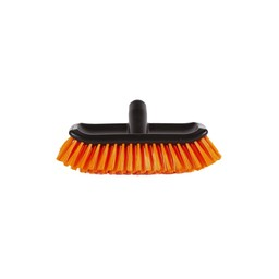 OrangeBrush OrangeBrush - Kunststof Multi Schrobber (Zwart / Oranje)