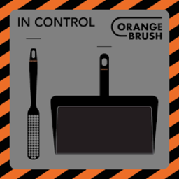 OrangeBrush OrangeBrush - Standaard Schaduwbord (2 artikelen)