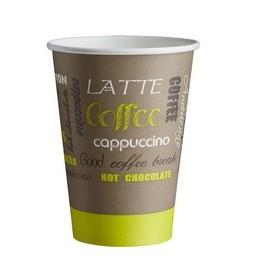 Kartonnen Koffiebekers, LIMETTA, 180ml  (Pak á 100 stuks)