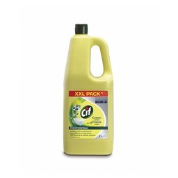 Pro-Formula Cif - ProFormula Cream Schuurmiddel, Citroen (2ltr fles)
