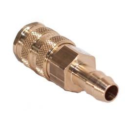 ProLine ProLine - Messing Snelkoppeling V, met 8mm Slangpilaar