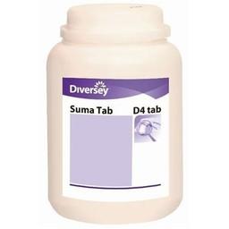 Diversey Diversey - Suma Tab D4 Chloortabletten (Pot á 300 stuks)
