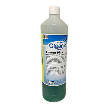 Cleanio Cleanio - Lemon Plus, Handafwasmiddel (1ltr fles)