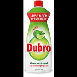 Dubro - Afwasmiddel Limoen (550ml flacon)