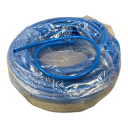 Cleanio Cleanio - Telewash Steelslang 5x8mm, Blauw (per meter)