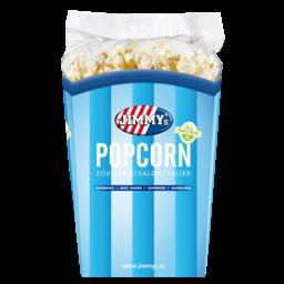 - Jimmy's - Popcorn Zout, Tub á 90 gram
