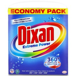 - Dixan - Extreme Power Waspoeder (3.9kg / 60 wasbeurten)