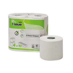 E-Tissue E-Tissue - Traditioneel Toiletpapier, 2-laags Recycled